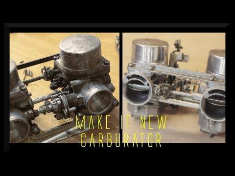 Rebuild Carburetor For A Honda CM 400 T