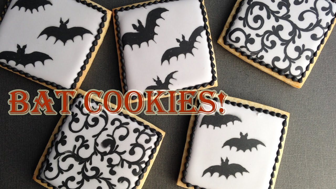 How To Decorate Bat Cookies With Royal Icing! - YouTube How To Decorate A Bat on how to draw a bat, how to dry a bat, how to create a bat, how to wrap a bat, how to build a bat, how to identify a bat, how to cook a bat, how to cut a bat, how to paint a bat, how to buy a bat, how to clean a bat, how to make a bat,