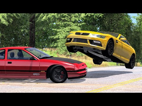 Realistic High Speed Crashes #23 - BeamNG Drive