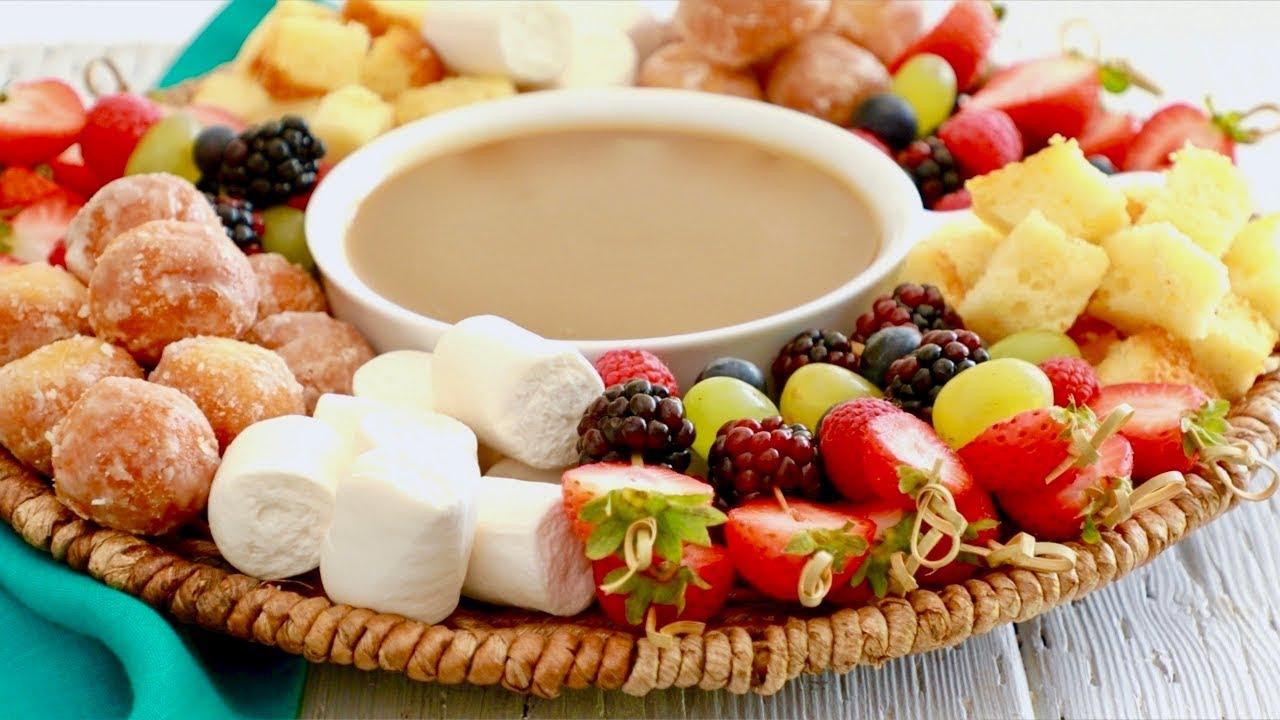 Date night dessert fondue: 5th wedding anniversary special youtube