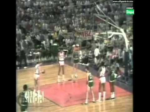 1976 NBA Finals - Game 4 Boston Celtics vs Phoenix Suns (Spanish audio) (2/2)