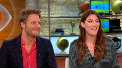 "Jake McDorman and Jennifer Carpenter talk new CBS drama ""Limitless"""