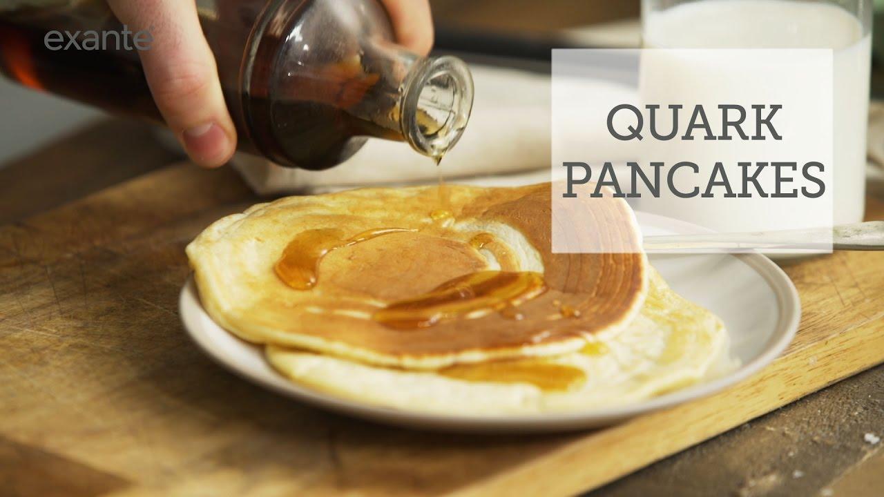 How to make healthy quark pancakes youtube how to make healthy quark pancakes ccuart Images