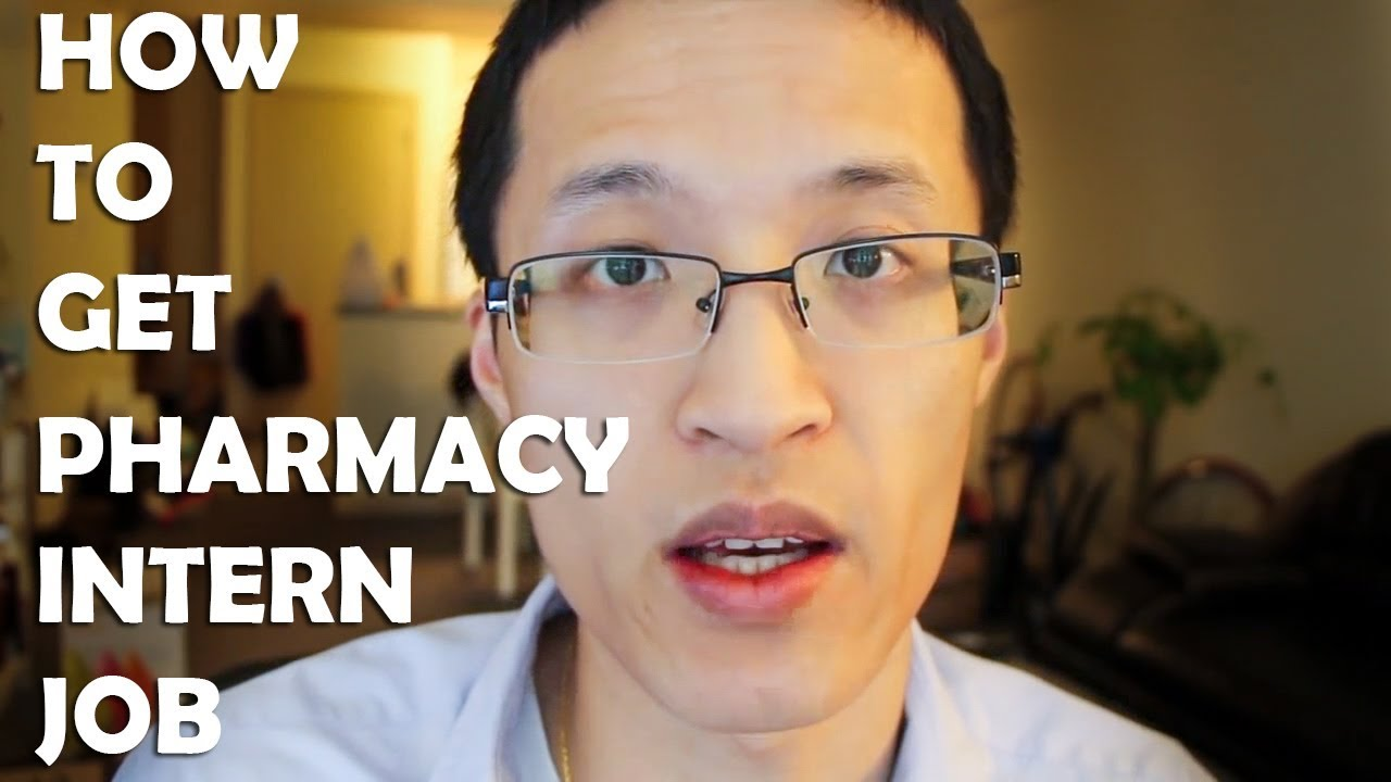 how to get a pharmacy intern job how to get a pharmacy intern job