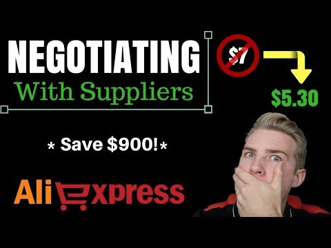Shopify - Negotiating With Suppliers