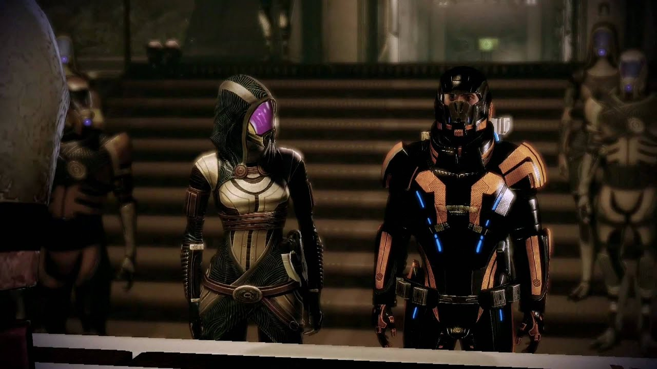 What are some missions that go from mass effect 1 to mass effect 2?