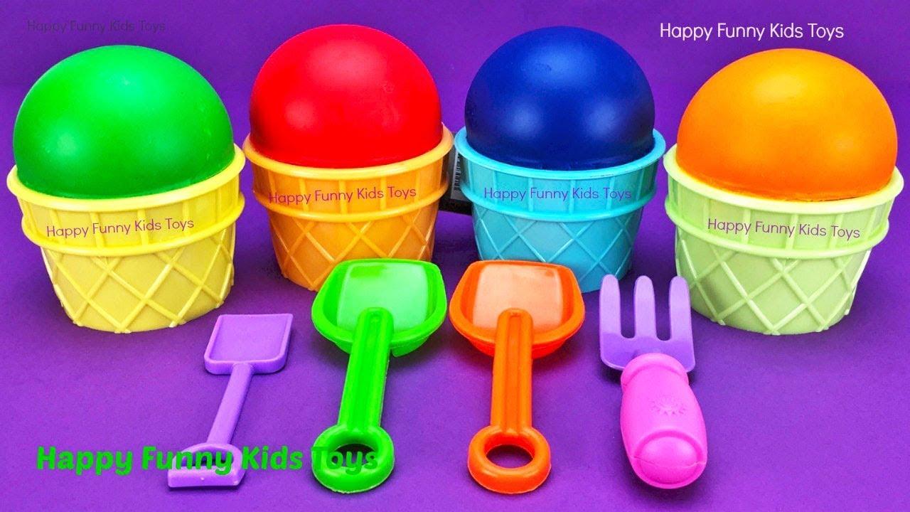 Download Play Doh Ice Cream Cups Surprise Eggs Minions Splashlings Zuru 5 Surprise Toys Chupa Chups Star Wars