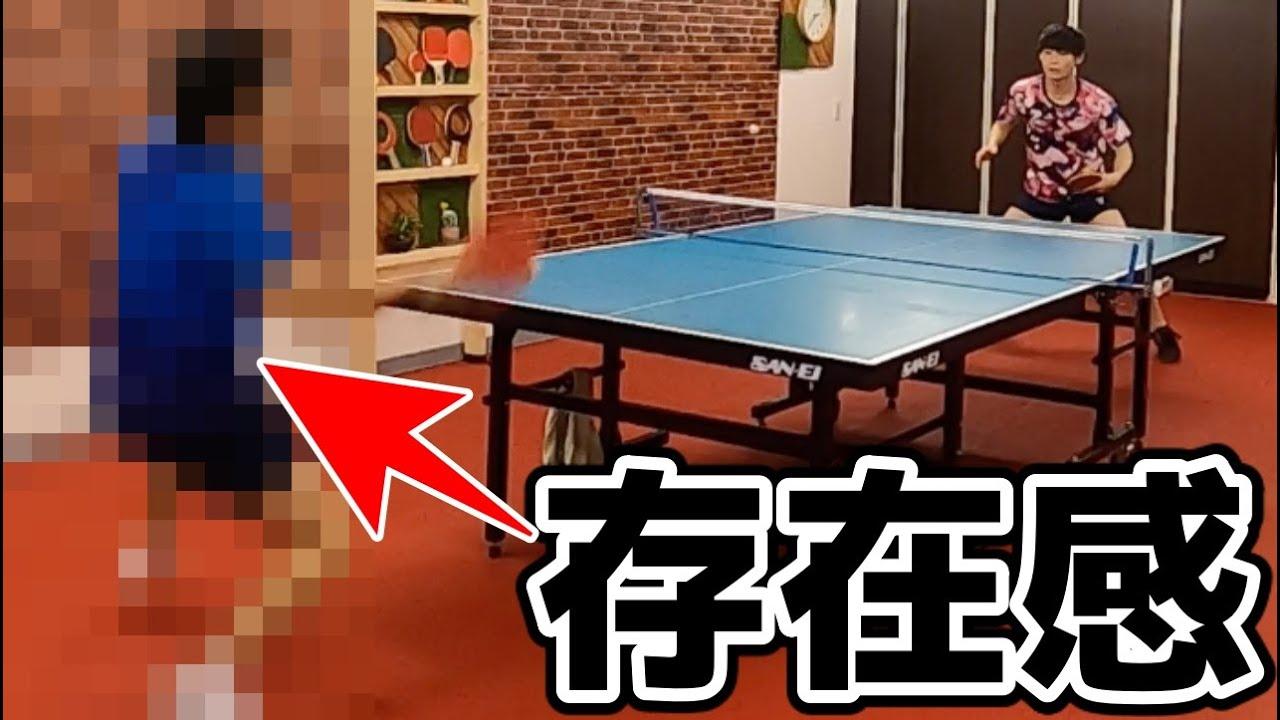 """卓球YouTuber界の""""ボス""""とガチ試合で死闘を繰り広げた"""