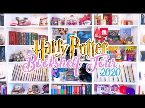 HARRY POTTER BOOKSHELF TOUR 2020