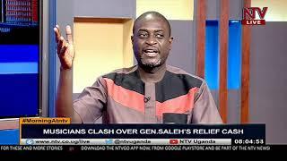 Musicians clash over Gen Saleh's relief cash | MORNING AT NTV
