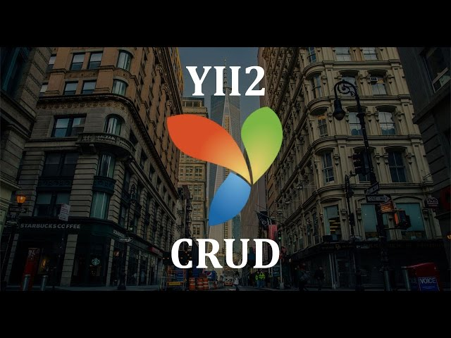 Пишем сайт на Yii2. Начало #1