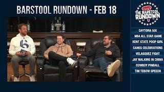 Did Kent State Gun Girl Poop Her Pants?! - February 18, 2019 - Barstool Rundown