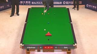 Ronnie O'Sullivan vs Dott frame 5th round 3 china snooker championship 2017