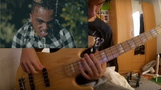 Download XXXTENTACION - Riot : Bass Cover (With Tabs) Mp3