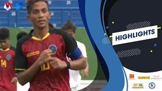 U18 Timor-Leste khẳng định sức mạnh với 5 bàn thắng vào lưới Philippines | VFF Channel