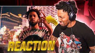 WHY HE DO DRAKE BEAT LIKE THIS?!   J. Cole - Heaven's EP (REACTION!!!)