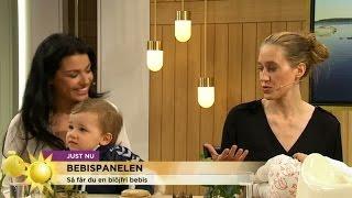 Bebispanelen: Så pottränar du med din bebis - Nyhetsmorgon (TV4)