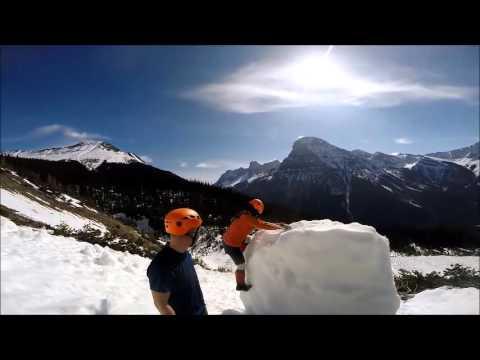 Mt Burgess early season attempt