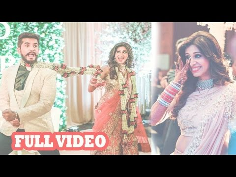 Suyyash Rai And Kishwer Merchant's Wedding Reception