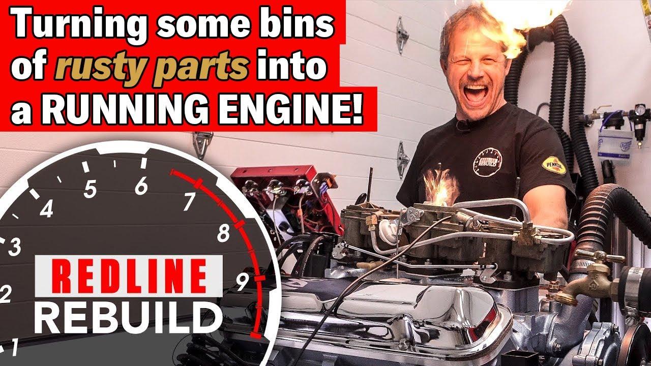 Pontiac Gto Tri Power 389 Time Lapse Engine Rebuild