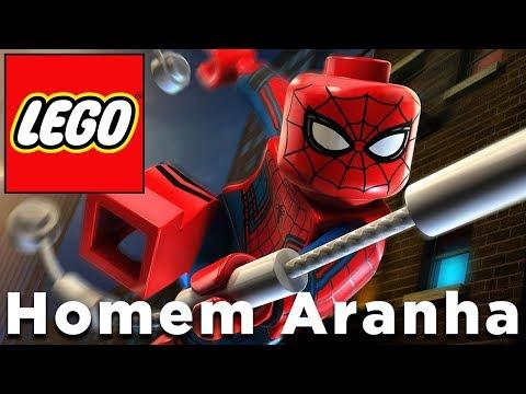 LEGO MARVEL SUPER HEROES 2 - Homem Aranha e Homem de Ferro vão salvar o mundo