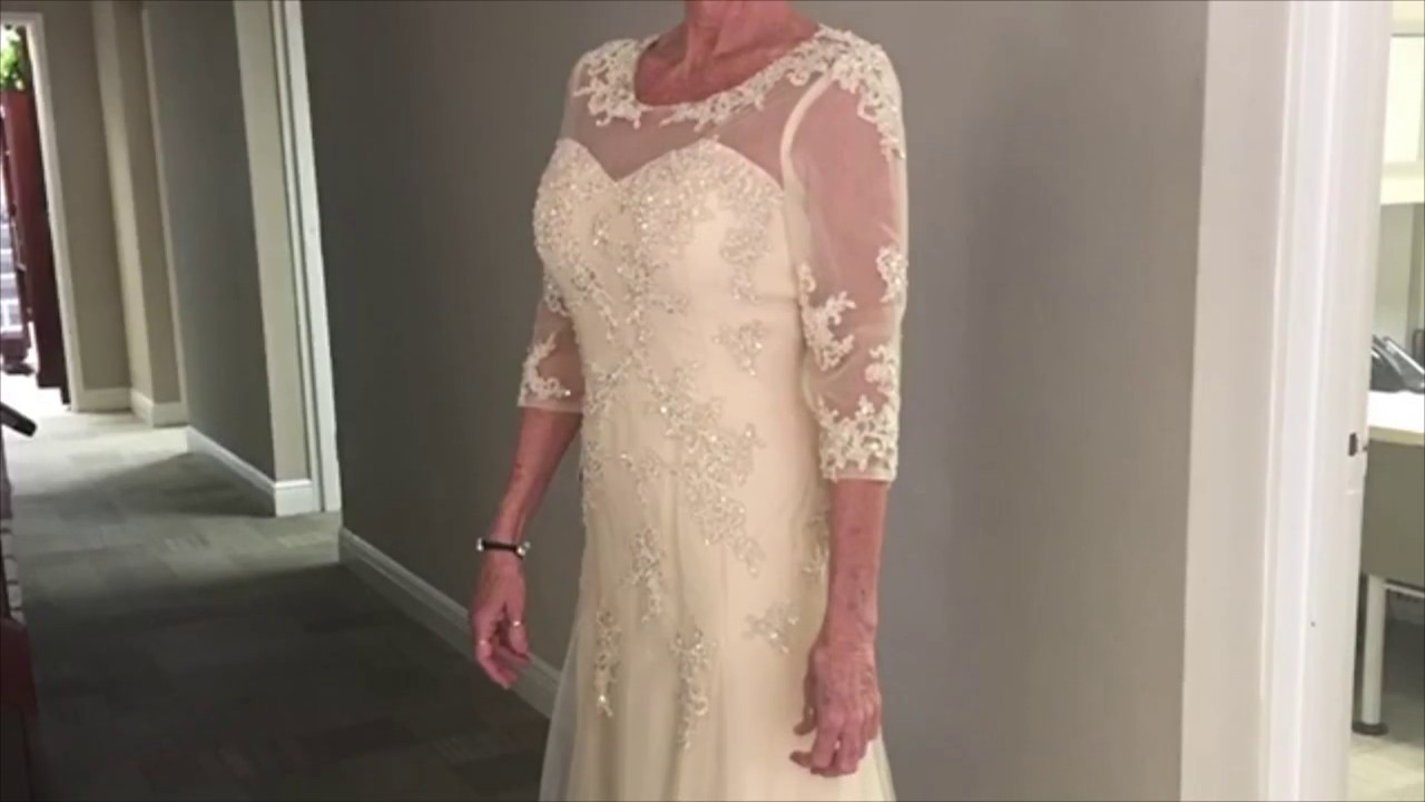 92834bddb323 JJs House Mother of Groom Dress Review - YouTube