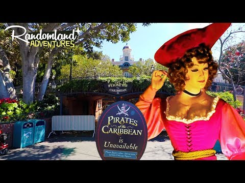 Disneyland Pirates is Closed - Goodbye Redhead Auction Scene!