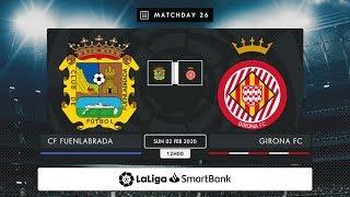 CF Fuenlabrada Girona FC MD26 D1200