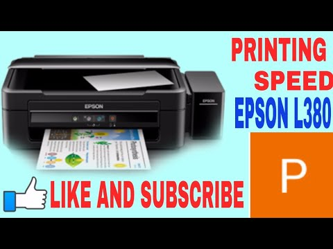 Epson L380 Printer Unboxing and Printing Quality Excellent
