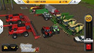 Fs14 farming simulatör 2014 / fazlalık araçları satmak / sell tractor and machinery / # 376 HD /