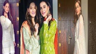 Aiman & Minal Khan Eid 1st , 2nd ,3rd day EID looks 2018