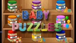 Baby puzzles -  Learn Animals Sound, Alphabets, Numbers, Shapes Fun Learn for Baby