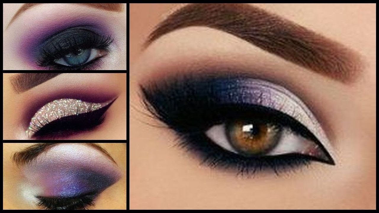 Unusual Smoky Purple Eye Makeup Tutorials Ideas | attractive eyes ...