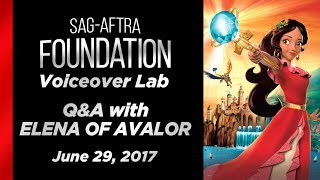 Voiceover Lab: Q&A with ELENA OF AVALOR