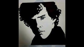 Drawing Sherlock(Benedict Cumberbatch) | Timelapse