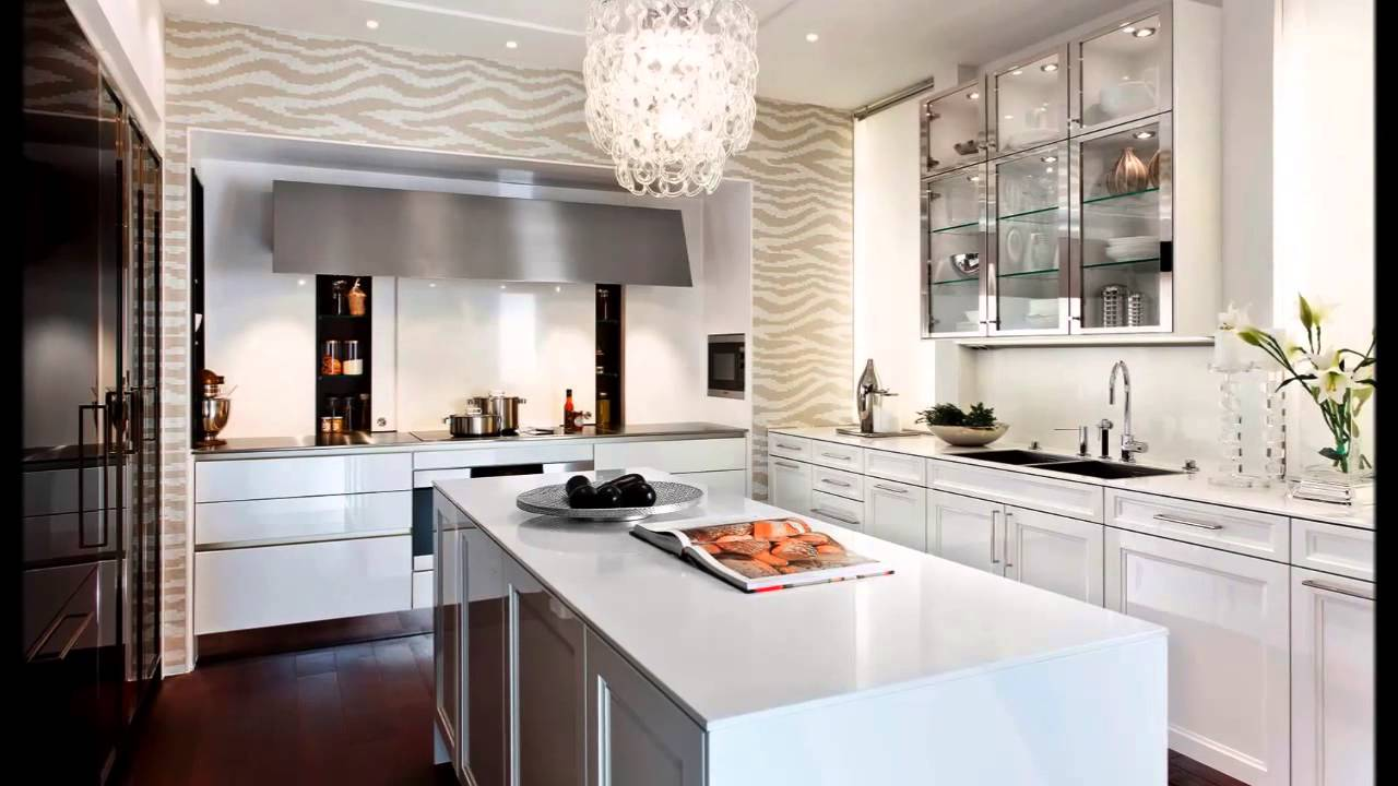 Cucine bianche moderne youtube for Immagini moderne