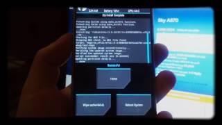 ROM    Hướng dẫn up rom 6 0  cho sky a870 CM13 bản  ngày 09 12 - Skypantech.vn