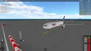 Roblox: SFS Flight Simulator 'FEDEX 89 Heavy Outing' on Cartoon Flight Sim!