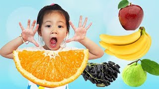 Johny Johny Yes Papa Fruits Version, Fruits Colors Song for Learn Colors, BaBiBum