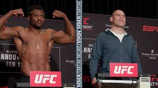 UFC Phoenix Weigh-Ins: Cain Velasquez, Francis Ngannou Make Weight - MMA Fighting