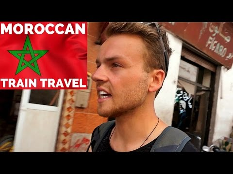 MOROCCO by train TRAVEL is BEAUTIFUL المغرب