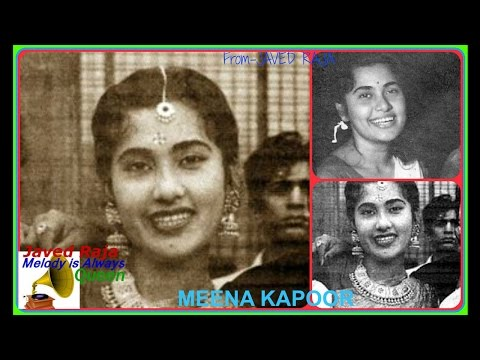 MEENA KAPOOR-Film-KHEL-1950-Tor Gaye Haye Tor Gaye Armaan Bhara Dil-[ Great Gem ]
