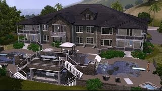 The Sims 3 Home Building - The Enclave || Let