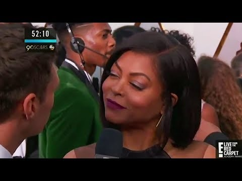 Did Taraji P. Henson SHADE Ryan Seacrest On 2018 Oscars Red Carpet?