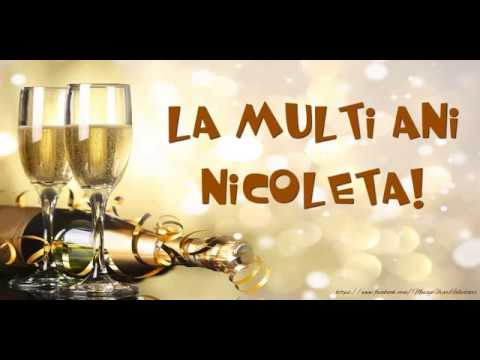 La multi ani, Nicoleta!