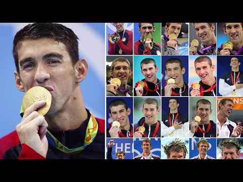 Here are all of Michael Phelps