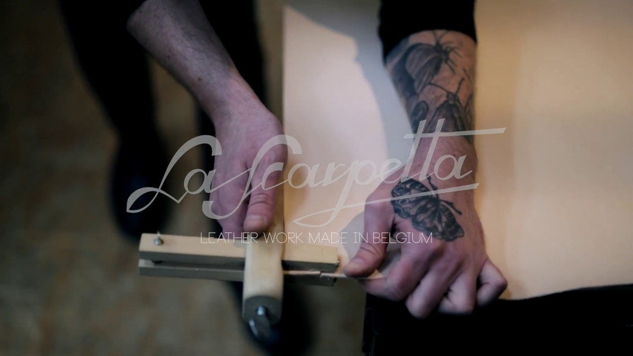 La Scarpetta - Leather work made in Belgium.