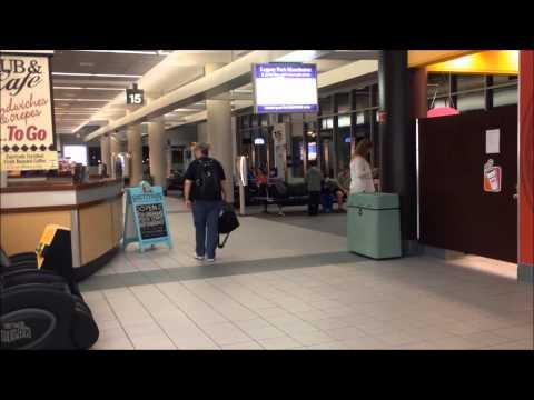 Inside Manchester-Boston Regional Airport