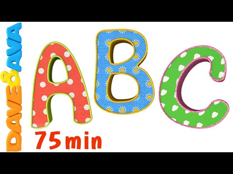 ABC Song ABC Songs Plus More Nursery Rhymes! Alphabet Collection and Ba Songs from Dave and Ava