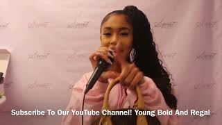 'Icy Girl' Saweetie Performs At The Secret Styles Boutique!